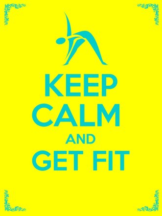 Keep Calm and Get Fit by Little Pearl available free for limited time on Kindle