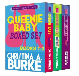 $0.99 Bargain Book: Queenie Baby Boxed Set by Christina A  Burke available for limited time on Nook and Kindle