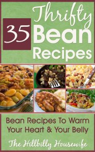The Thrifty Bean Cookbook available free for limited time on Kindle