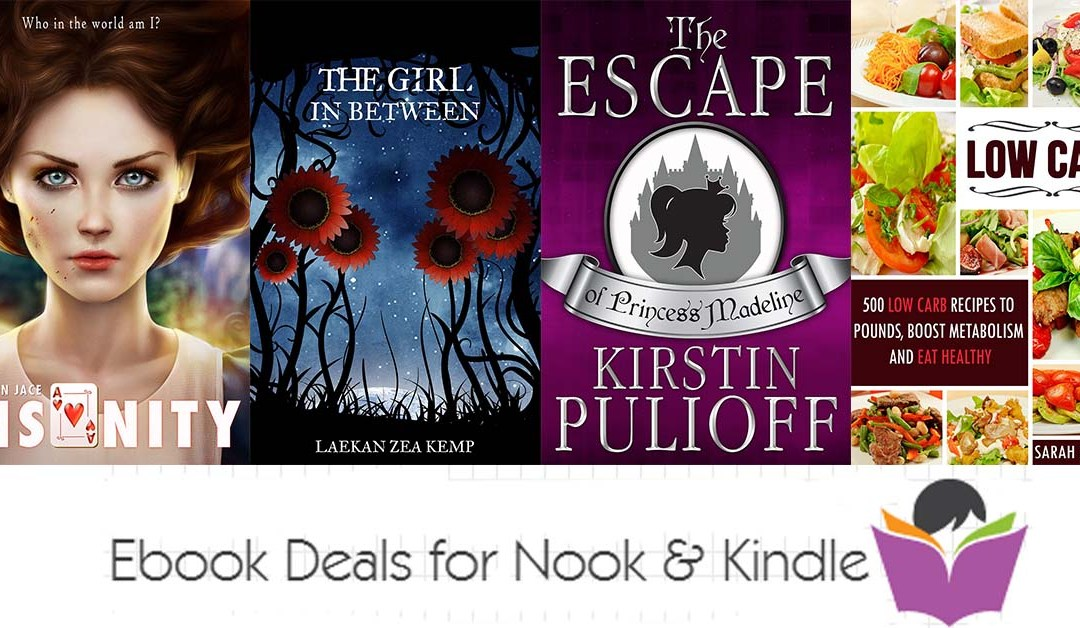 5/28 Thursday Afternoon Block of Free Books for Nook & Kindle