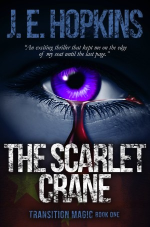 The Scarlet Crane by JE Hopkins available free for limited time on Nook and Kindle