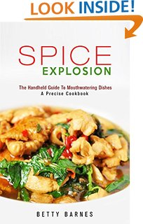 Spice Explosion by Betty Barnes available free for limited time on Kindle