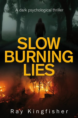 Slow Burning Lies by Ray Kingfisher available free on Kindle for limited time