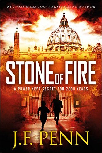 Stone of Fire by JF Penn available free for limited time on Nook and Kindle