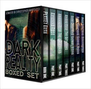 Dark Reality 7 book boxed set by Jennifer and Christopher Martucci available free for limited time on Nook and Kindle