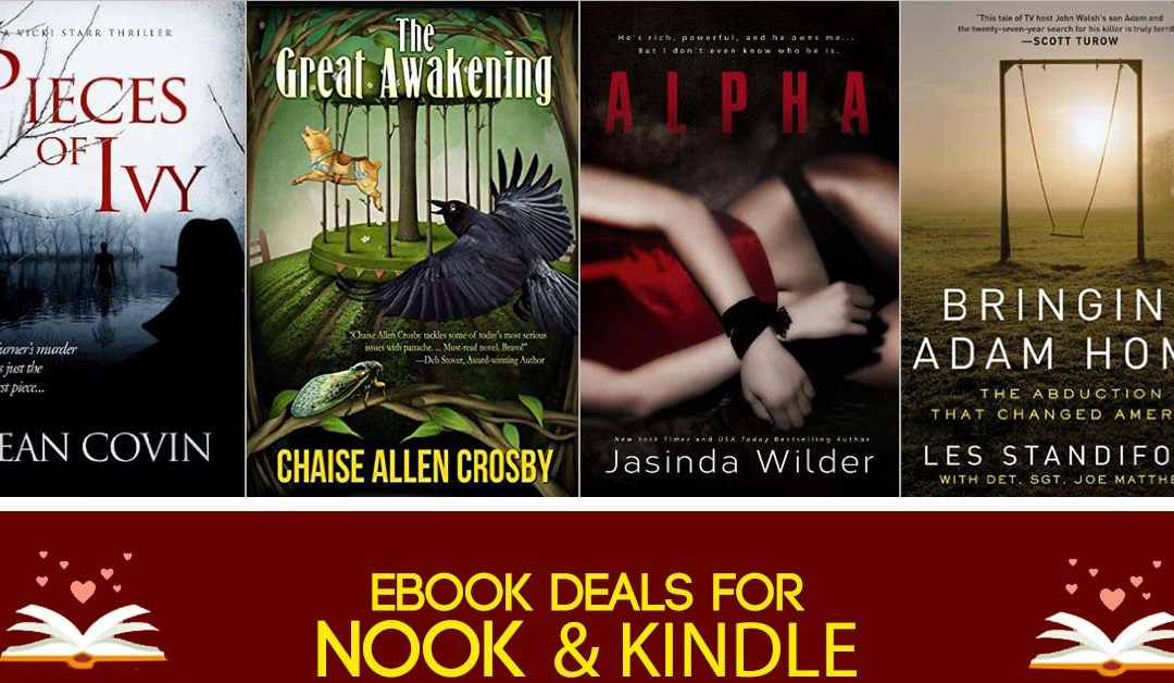 7/29 Evening Block of Book Deals on Kindle and Nook