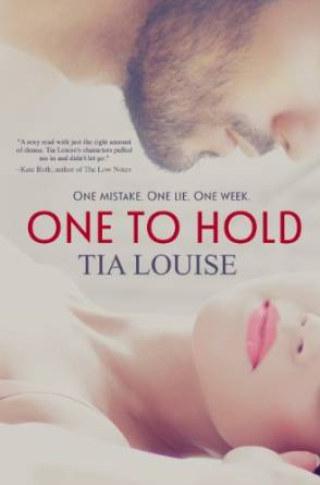 One to Hold by Tia Louise available free for limited time on Nook and Kindle