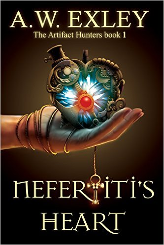 Nefertiti's Heart by AW Exley available free for limited time on Kindle and Nook