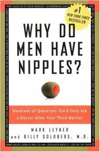 Why Do Men Have Nipples? available on Nook and Kindle for only $1.99 for limited time