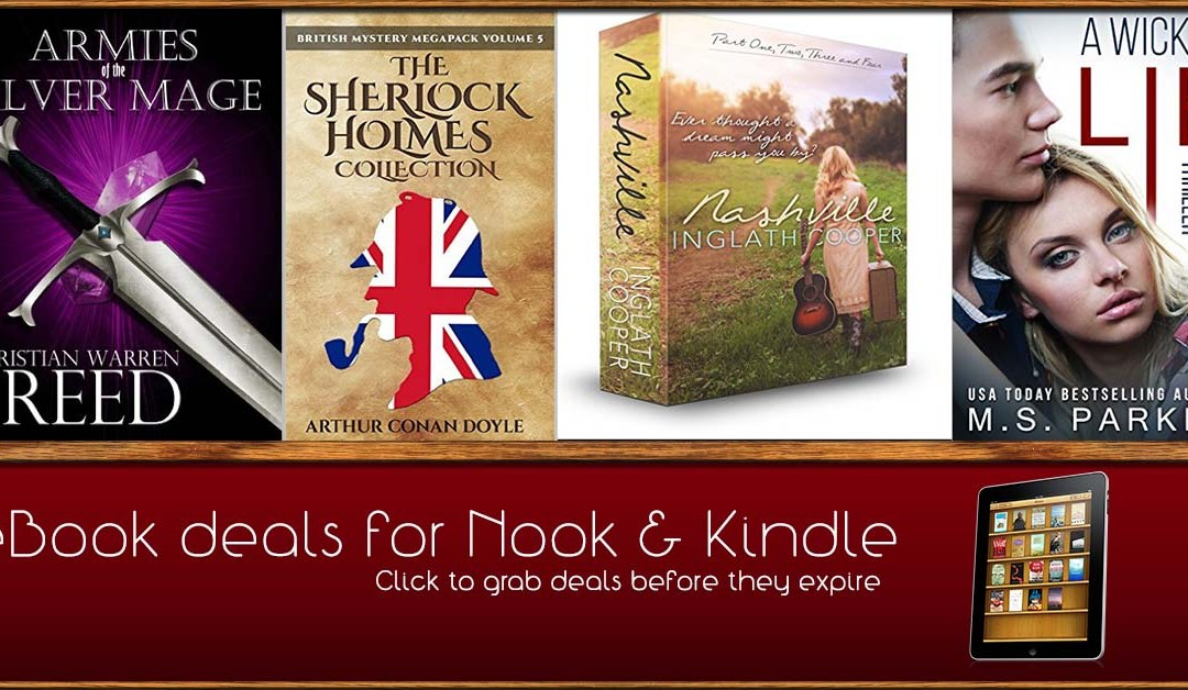 8/13 Afternoon Block of Free eBook Deals