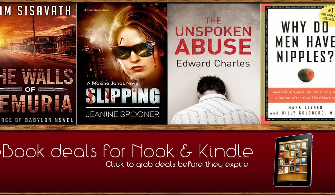 8/14 Afternoon Block of Kindle and Nook Deals