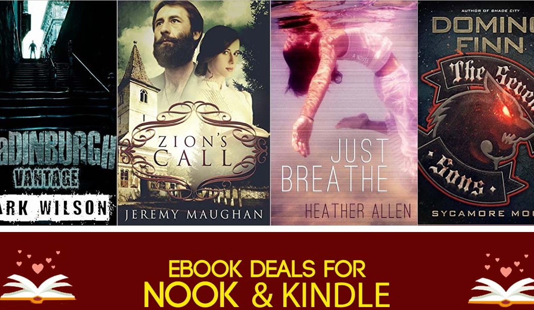 8/2  Sunday Evening Block of Kindle & Nook eBook Deals