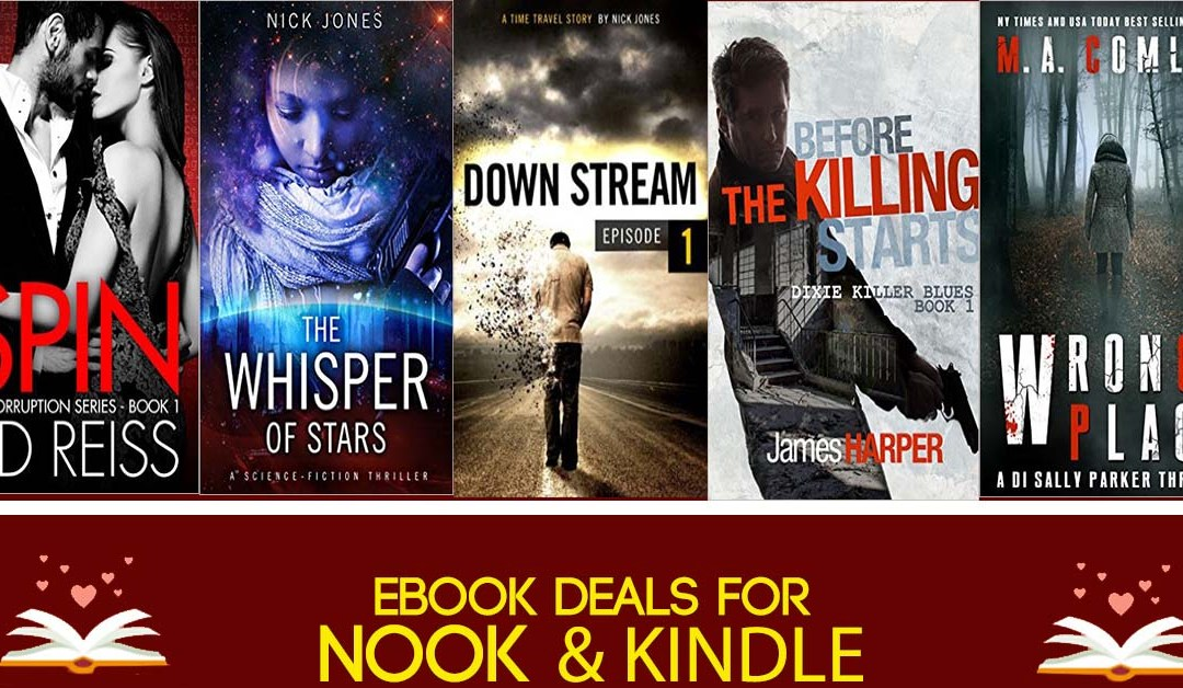 8/4 Tuesday Afternoon Block of eBook Deals