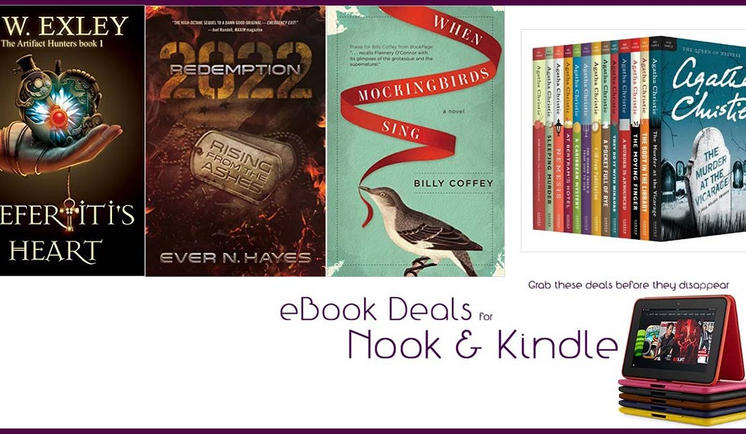 8/8 Morning Block of Free Deals for Nook & Kindle