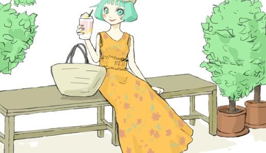 花柄ワンピースのコーデ 夏ver!マキシ丈は?2019年版♪