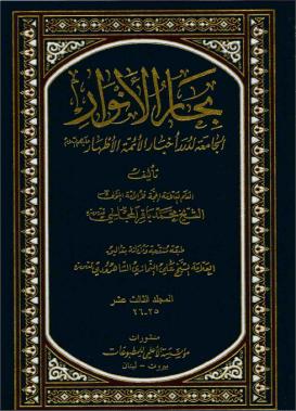 bihar al anwar v25 cover page