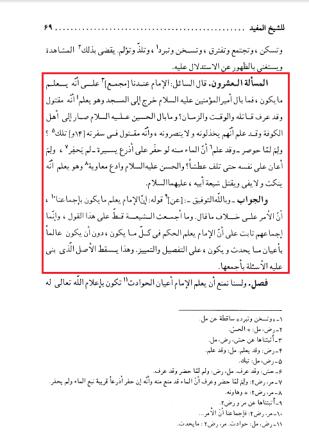 Masail al akbariya shk mufid Ans to Q 20 knowledge of imam