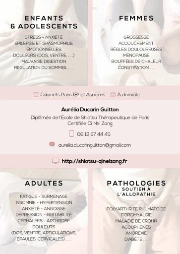 Petite liste de pathologies et problématiques qui peuvent être soulagées et accompagnées efficacement par le Shiatsu et le Chi Nei Tsang à Asnières et Paris