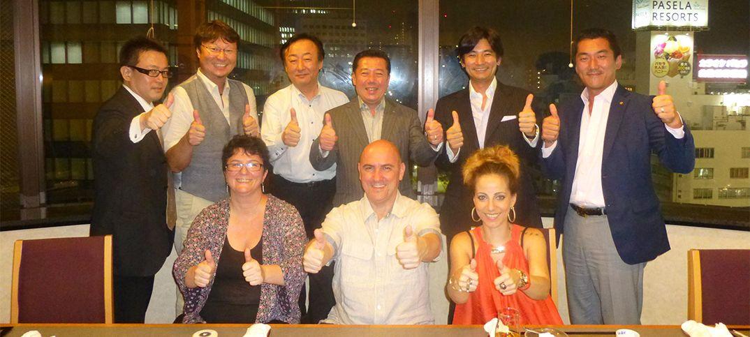 Junta directiva de la Internacional Shiatsu Foundation y Shiatsu Yasuragi. Nombramiento de Arturo Valenzuela
