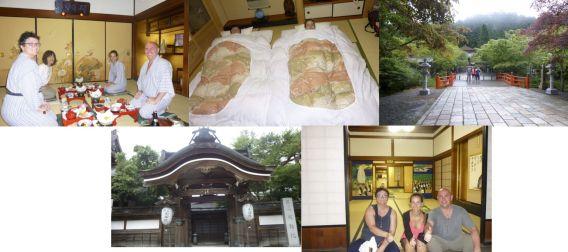 Shiatsu Master en Japón, templo Daienin, en el monte Koya,