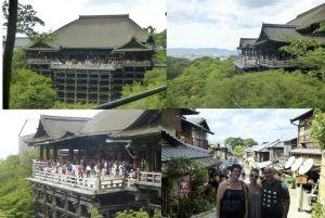 Shiatsu Master en Japón, templo Kiyomizu