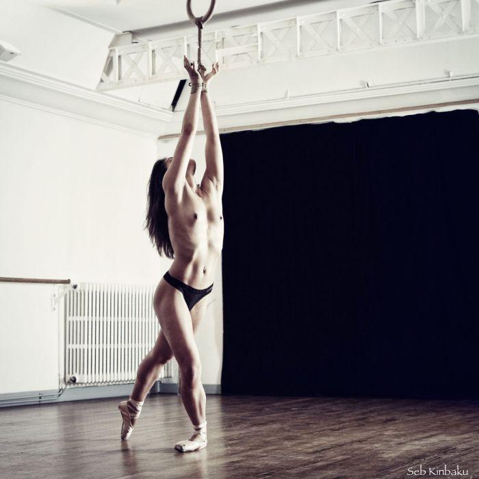 Session shibari danse, Malice & Seb Kinbaku _ Shibari Paris