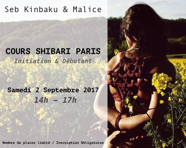 Shibari / Kinbaku cours paris