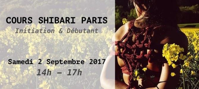 Réservez votre cours de shibari à Paris