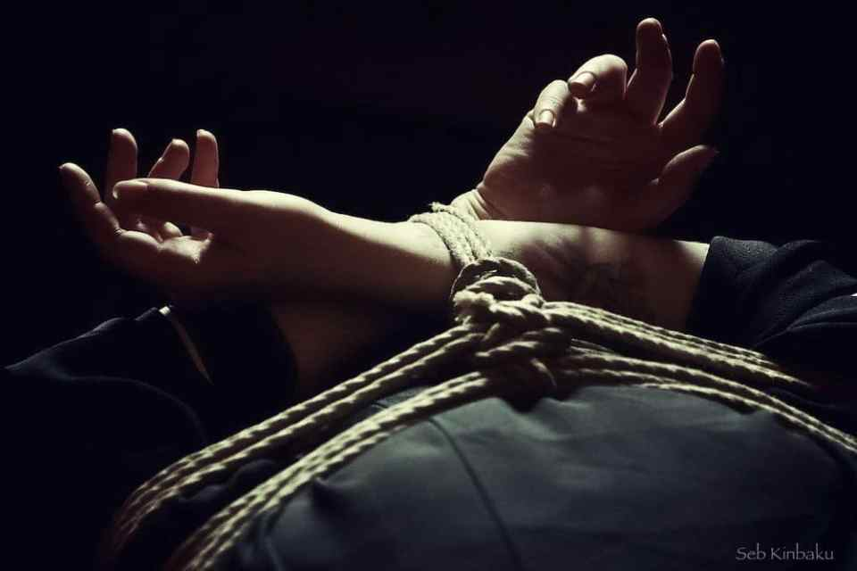 Shibari kinbaku Session Paris