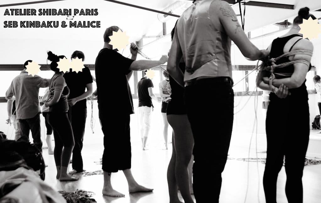 Workshop shibari Paris