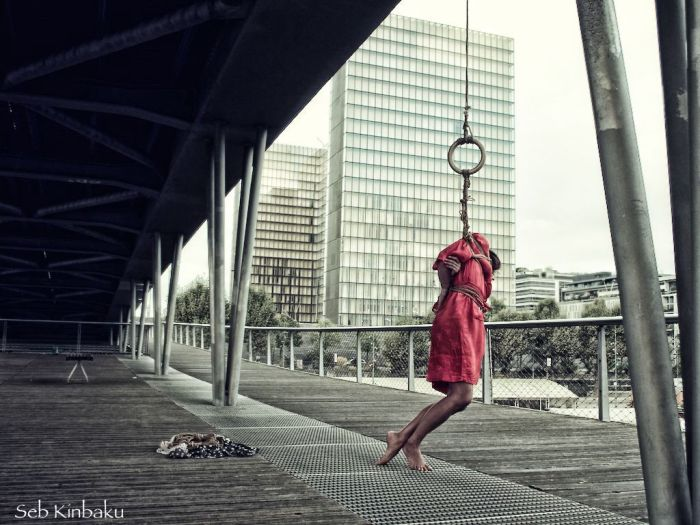 Shibari Urbex Paris