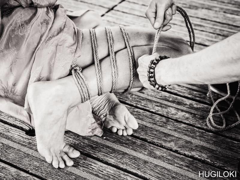 photo kinbaku : Shibari artist Paris
