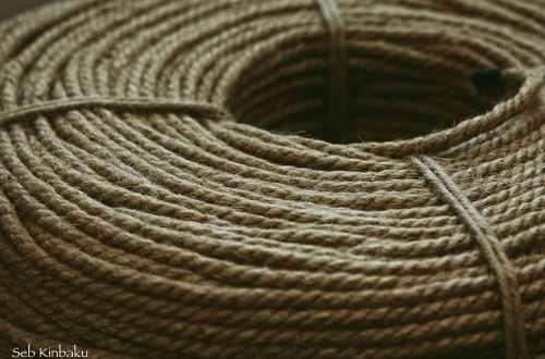 corde shibari kinbaku jute 6mm