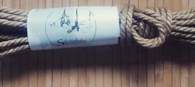 Cordes shibari en jute disponible à la vente