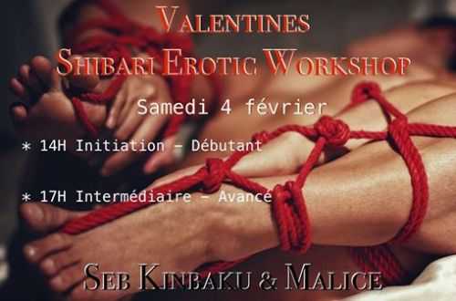 cours erotic shibari by seb kinbaku