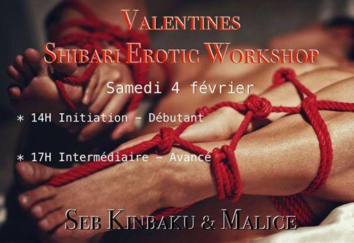 cours erotic shibari by seb kinbaku
