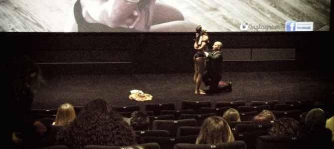 Performance Shibari Fiftyshades / Cinéma Etoile Lilas