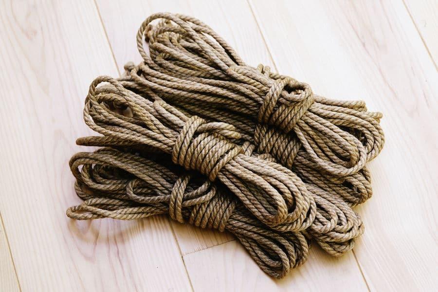 cordes shibari by Seb Kinbaku
