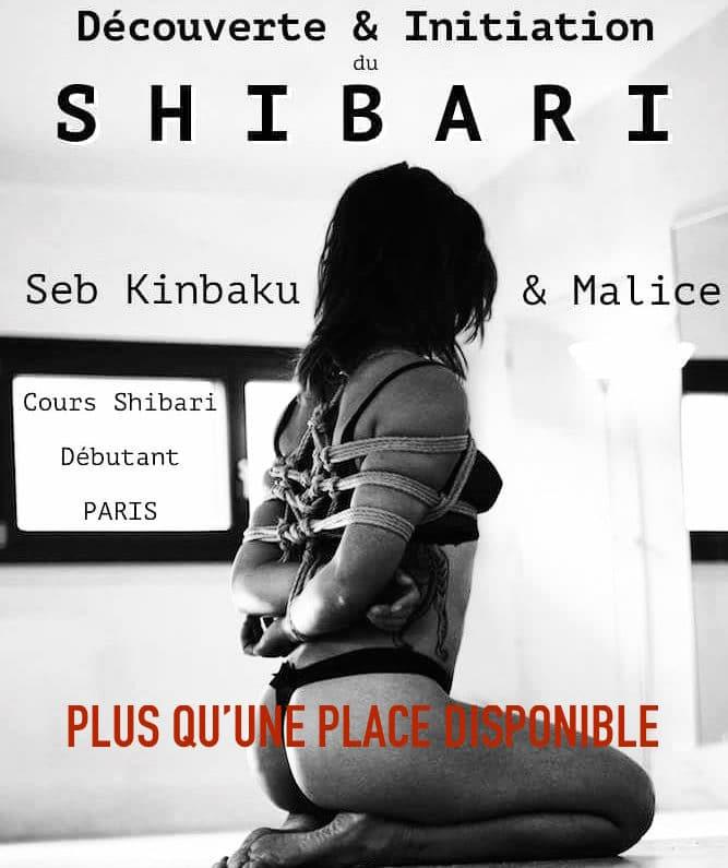 cours shibari mai Paris by seb kinbaku