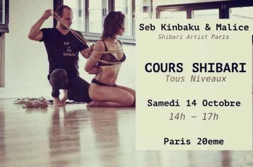 Cours Shibari Paris : Octobre 2017