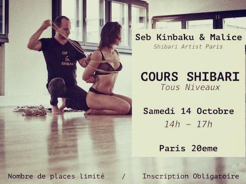 cours shibari tous niveaux by seb kinbaku octobre 2017