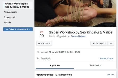 workshop shibari belgique