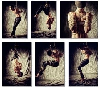 Galerie photo Shibari Masculin