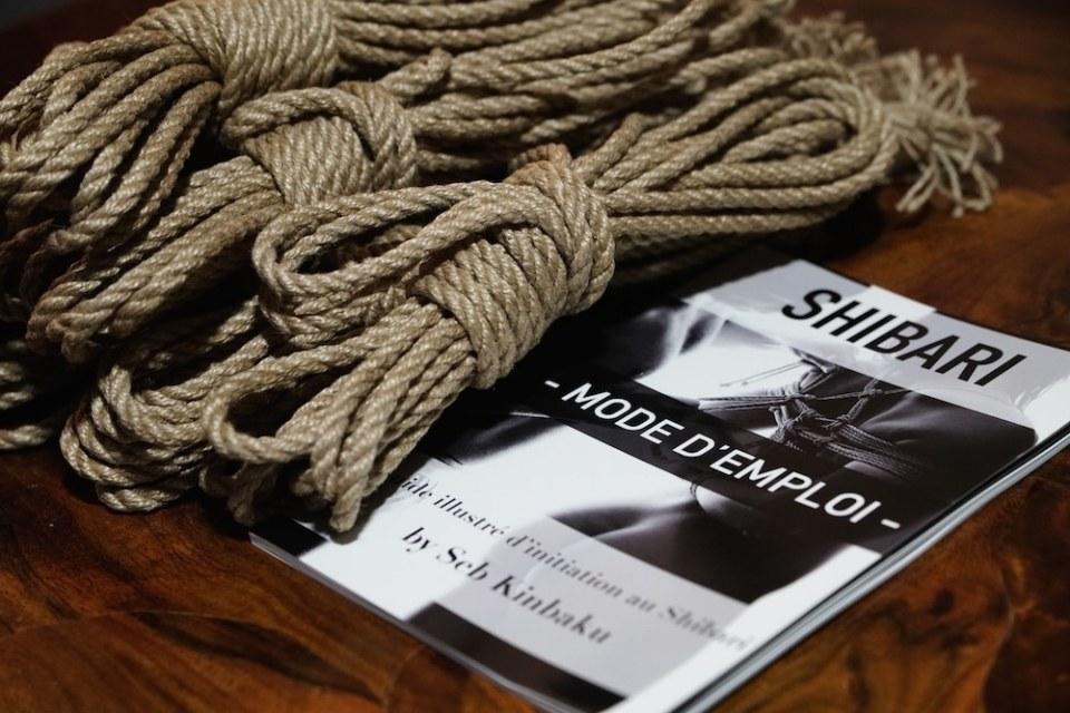 guide shibari + corde shibari