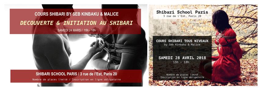 Shibari School Paris by Seb Kinbaku