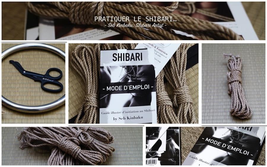 corde shibari jute et chanvre : livre et guide shibari et kinbaku