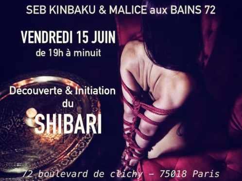 Soirée shibari paris
