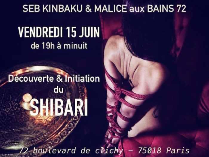 Initiation et découverte du shibari avec Seb Kinbaku & Malice
