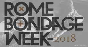 rome bondage week 2018 : SEB KINBAKU SHIBARI ARTIST