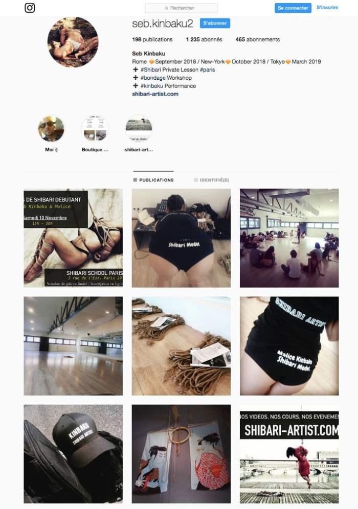 instagram seb kinbaku - shibari artist paris